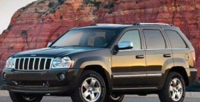 2006 Manual de Propietario Jeep Grand Cherokee