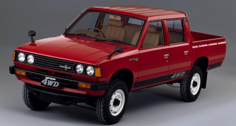 Manual Datsun Pick Up 1983 Taller