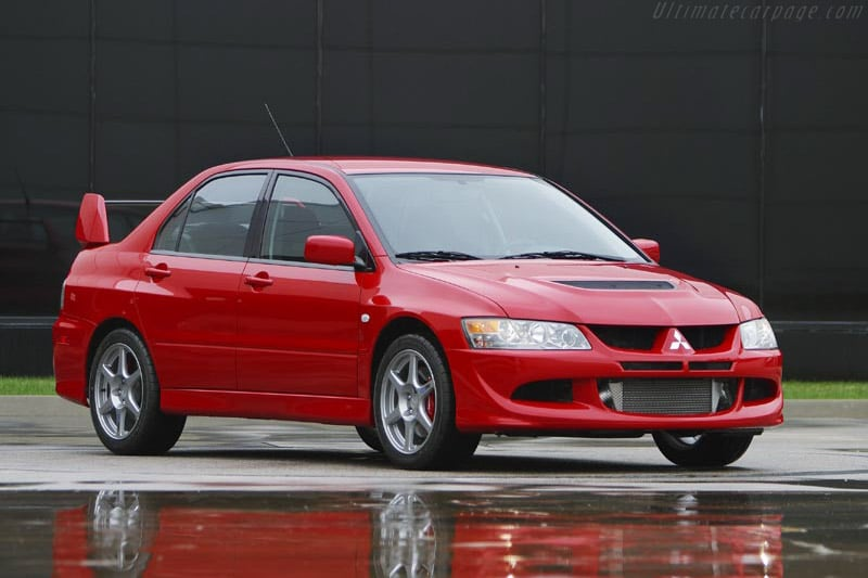 Manual Mitsubishi Lancer EVO VIII Taller