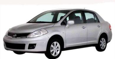Manual Nissan Tiida 2013 de Taller y Mantenimiento