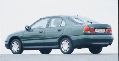 Manual Mitsubishi Carisma Reparación
