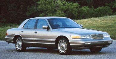Manual Ford Grand Marquis 1996 de Taller y Mantenimiento