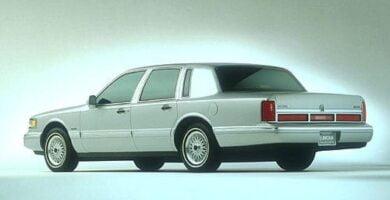 Manual Ford Town Car 1996 de Taller y Mantenimiento