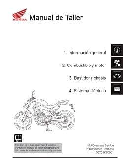 Manual Moto Honda VFR 750F Reparación en PDF