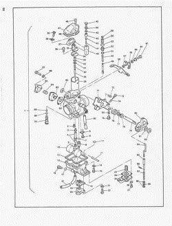 Manual Moto Suzuki DR600S Taller en PDF TRANSMISION