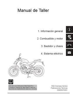 Manual Moto Suzuki DR600S Taller en PDF