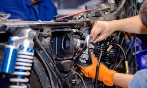 Manual Moto Honda VFR 750F Reparación Embrague Clutch