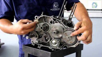 Manual Moto Honda VFR 750F Reparación Transmisión