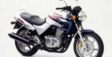 Manual Moto Honda CB 500 2000 Taller y Mantenimiento