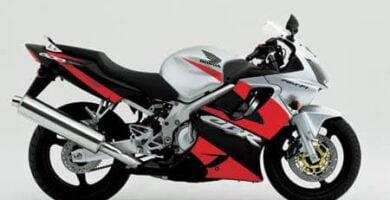 Manual Moto Honda CBR 600 2001 Taller y Mantenimiento