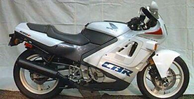 Manual Moto Honda CBR 600F 1990 Taller y Mantenimiento