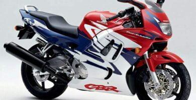 Manual Moto Honda CBR 600F3 Taller y Mantenimiento
