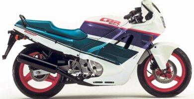 Manual Moto Honda CBR 600Fm 1989 Taller y Mantenimiento