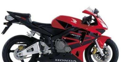 Manual Moto Honda CBR 600RR 2003 Taller y Mantenimiento