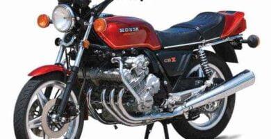 Manual Moto Honda CBX 1000 Taller y Mantenimiento