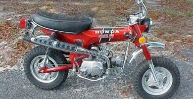 Manual Moto Honda CT 70 Trail Taller y Mantenimiento