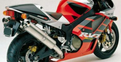 Manual Moto Honda RVT 1000R Taller y Mantenimiento