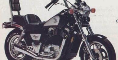 Manual Moto Honda VT 1100 1985 Taller y Mantenimiento