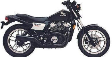 Manual Moto Honda VT 500C 1983 Taller y Mantenimiento