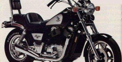 Manual Moto Honda VT 700 Shadow Taller y Mantenimiento