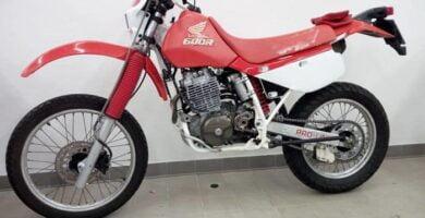 Manual Moto Honda XR 600 Taller y Mantenimiento