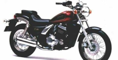 Manual Moto Kawasaki EL250E Reparación y Servicio