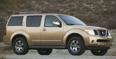 Manual Nissan Pathfinder 2006 de Taller y Mantenimiento