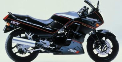 Manual Moto Kawasaki GPX 750 Reparación y Servicio