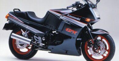 Manual Moto Kawasaki GPX 750R Reparación y Servicio