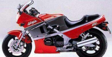 Manual Moto Kawasaki GPZ 400 Reparación y Servicio