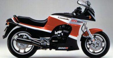 Manual Moto Kawasaki GPZ 900R Reparación y Servicio