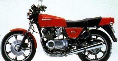 Manual Moto Kawasaki KZ 500 Reparación y Servicio