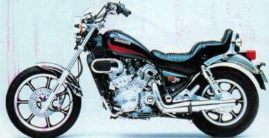 Manual Moto Kawasaki Vulcan 750A Reparación y Servicio