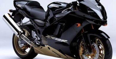 Manual Moto Kawasaki ZX 12R 2000 Reparación y Servicio