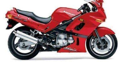 Manual Moto Kawasaki ZX 600 Reparación y Servicio