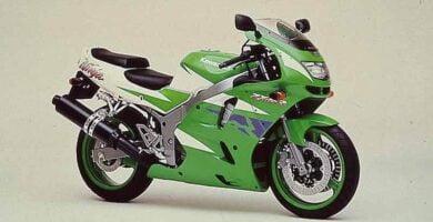 Manual Moto Kawasaki ZX 6R 1995 Reparación y Servicio