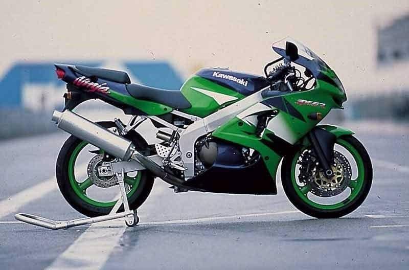 Manual Moto Kawasaki ZX 6R 1998 Reparación y Servicio
