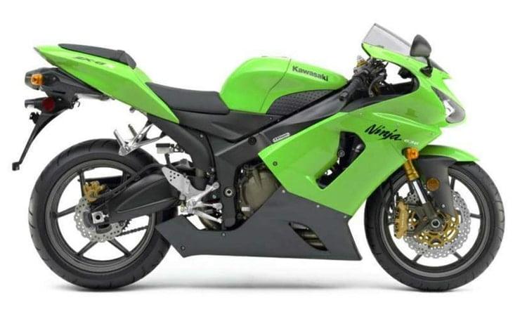 Manual Moto Kawasaki ZX 6R 2005 Reparación y Servicio