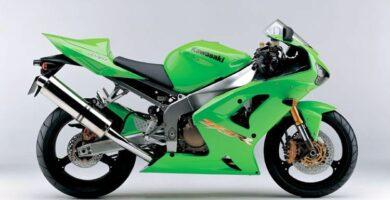Manual Moto Kawasaki ZX 6RR 2003 Reparación y Servicio