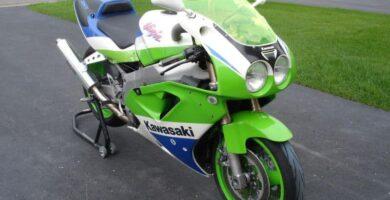 Manual Moto Kawasaki ZX 7R Reparación y Servicio