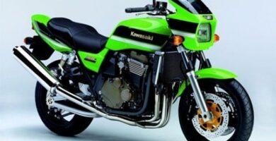 Manual Moto Kawasaki ZXR 1200 Reparación y Servicio
