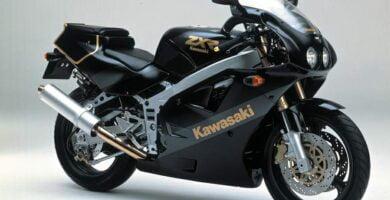 Manual Moto Kawasaki ZXR 400H Reparación y Servicio