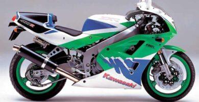 Manual Moto Kawasaki ZXR 400L Reparación y Servicio