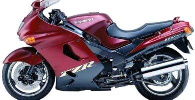 Manual Moto Kawasaki ZZR 250 1990 Reparación y Servicio