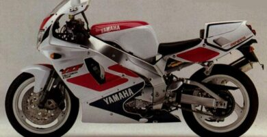 Manual Moto Yamaha FZR 750 Reparación y Servicio