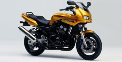 Manual Moto Yamaha Fazer 600 2000 Reparación y Servicio