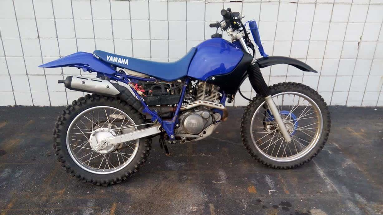 Manual Moto Yamaha TTR225 Reparación y Servicio