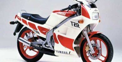 Manual Moto Yamaha TZR 125 Reparación y Servicio