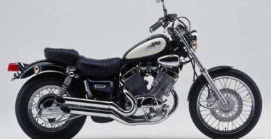 Manual Moto Yamaha Virago XV535 1997 Reparación y Servicio