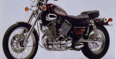Manual Moto Yamaha Virago XV535 Reparación y Servicio
